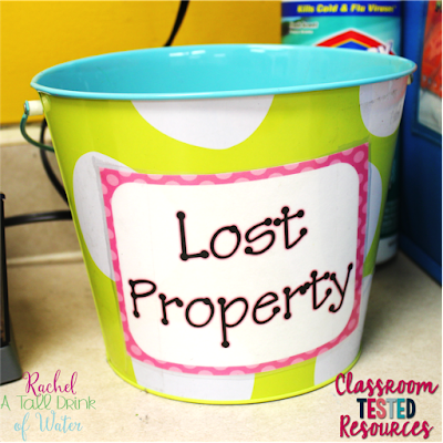 A quick and easy tip for keeping your student's area and classroom clean and not losing your sanity in the process! www.classroomtestedresources.com