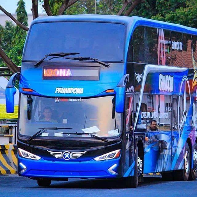 Pesona Bus Primadona Rute Toraja-Makasar, Menjadi Bus Double Decker Pertama di Indonesia Timur