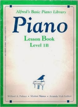 alfred's basic piano library piano lesson book level 1b FREE