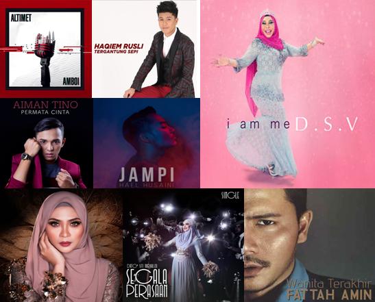 Lagu Paling Popular Tahun 2017 Di Malaysia Galaksi Viral