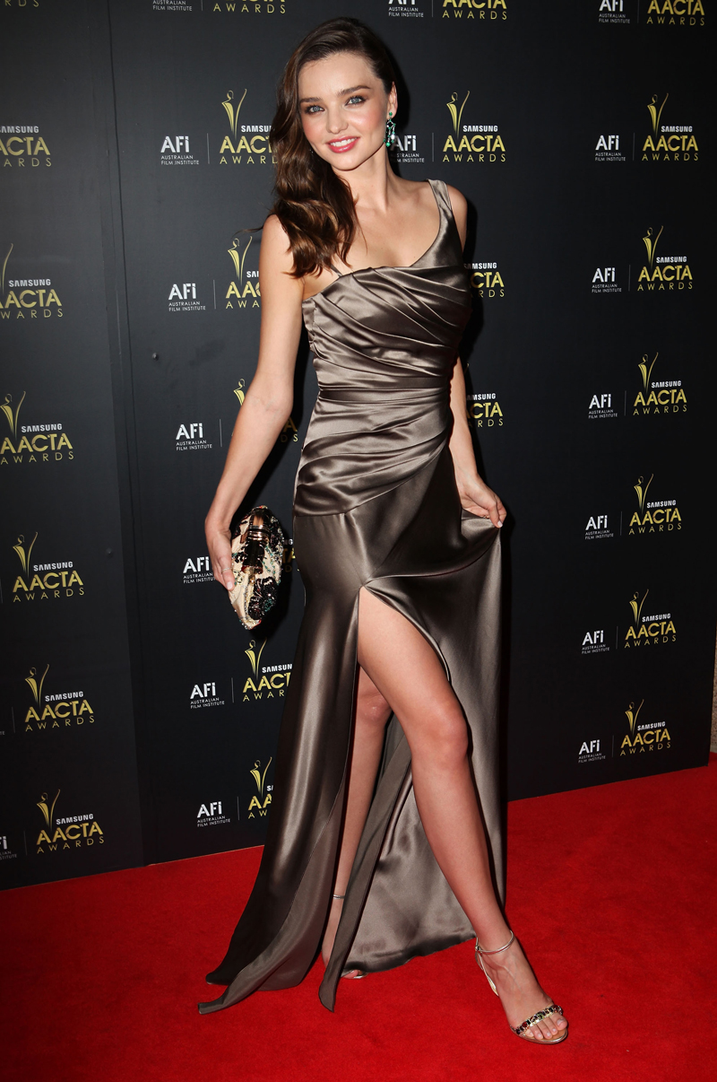 Miranda Kerr Flashes Her Killer Legs At 2012 Baacta Awards