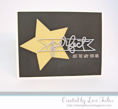 Perfect card-designed by Lori Tecler/Inking Aloud-stamps and dies from Concord & 9th