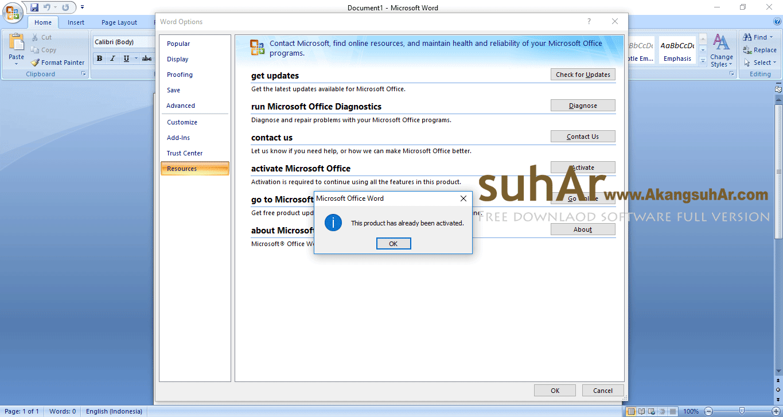 Download Microsoft Office 2007 Enterprise SP3 2018 Full Version