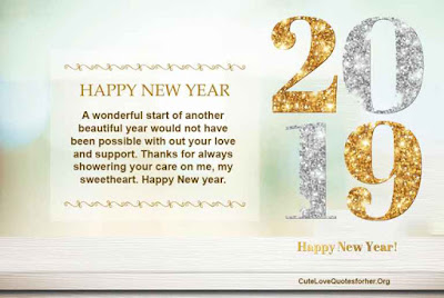 Happy New Year 2019 Greeting Cards Ecard Messages For Her Happy
