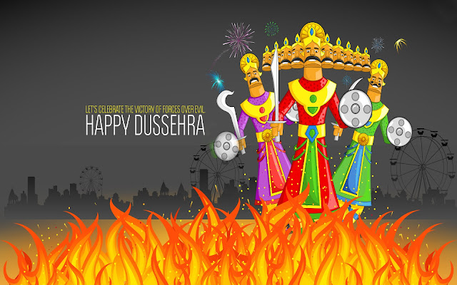 Graphical Images of Dussehra 2016