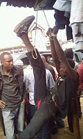 This is how residents of Chuka deal with pick-pockets, No mercy at all (See  PHOTOs).