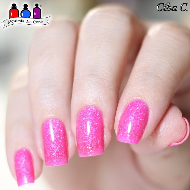 Cebella, Bow Nail Polish, Doll Everyone, Born Pretty, BP-L029, Rosa Neon