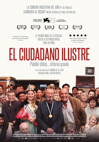 Cartel: El ciudadano ilustre (2016)