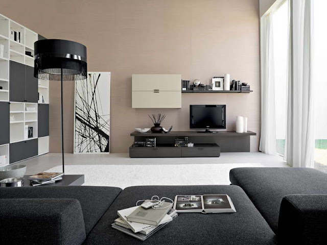 Black and white contemporary living rooms Black and white contemporary living rooms Black 2Band 2Bwhite 2Bcontemporary 2Bliving 2Brooms1