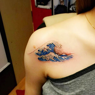 Small and Delicate Shoulder Tattoos for Women