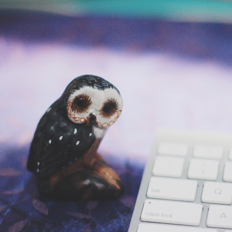 Creative Spaces: Hazel from Stay Bookish-Owl