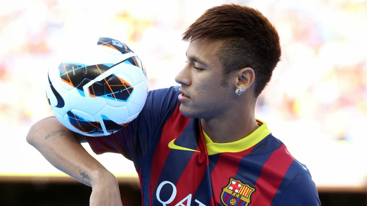 Soccer Player Hairstyles: Soccer Player Hairstyles NeymarNeymar Playing Soccer 2014