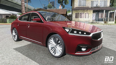 Download mod carro  Kia Cadenza 2017 para GTA San Andreas , GTA SA Jogo PC