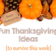 Fun Thanksgiving Activites for Your Class {with Freebies}