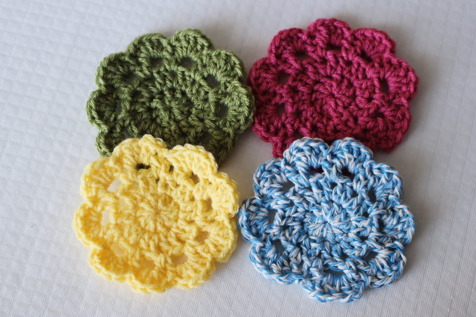 Easy Crochet Coasters: Great for Beginners! - Sewrella