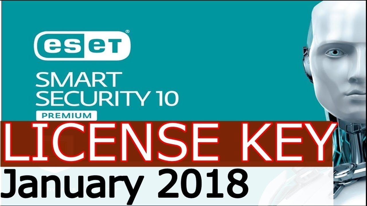 eset nod32 10 license key 2018