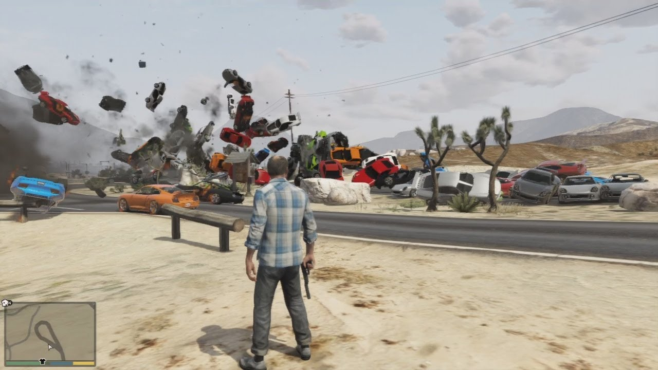 10 Craziest And Funniest GTA V Mods You Have To Try - Slazera