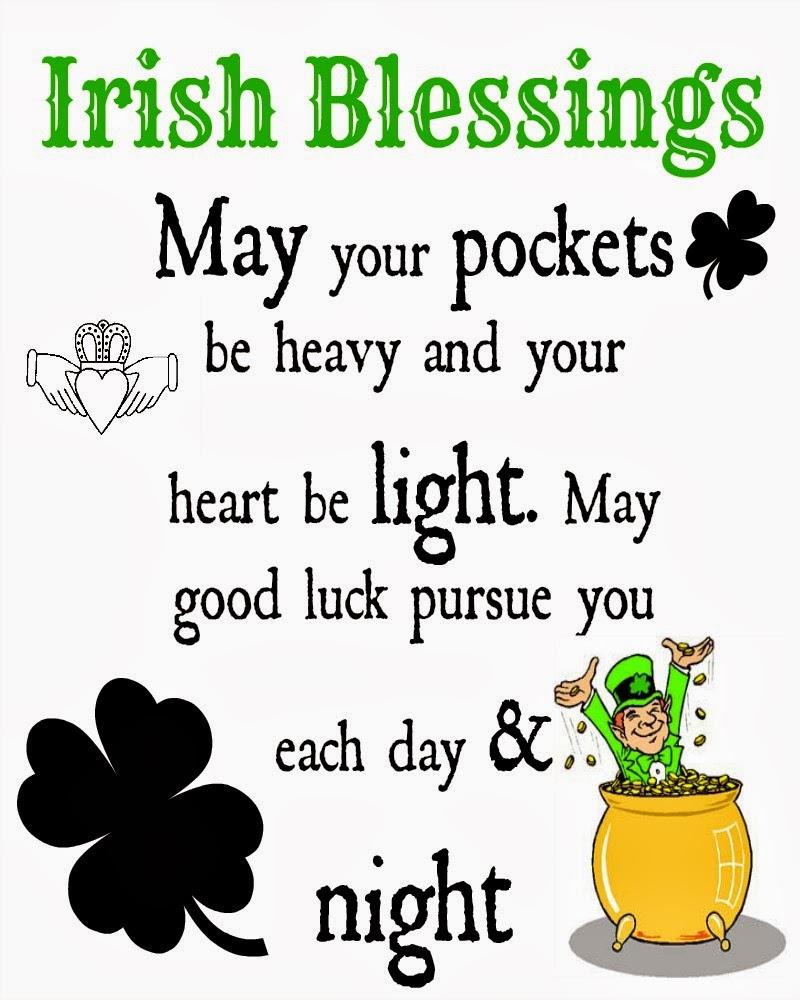 Good Luck Prayer Quotes: Irish Quotes, Irish Sayings, Irish Jokes & More...: Irish