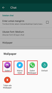 Tutorial Cara Mengganti Background Whatsapp 4