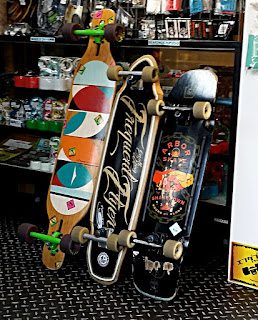 試乗用スケートボード 街乗りクルーザー サーフスケート ロンスケは常時数台