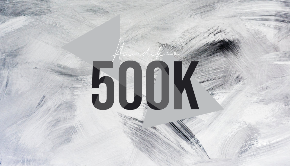 Blog Tembus 500k, Aku Terharu!