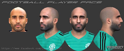 PES 2017 Faces Lee Grant by Love01010100