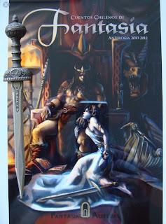 Portada del libro Cuentos chilenos de fantasía, de varios autores