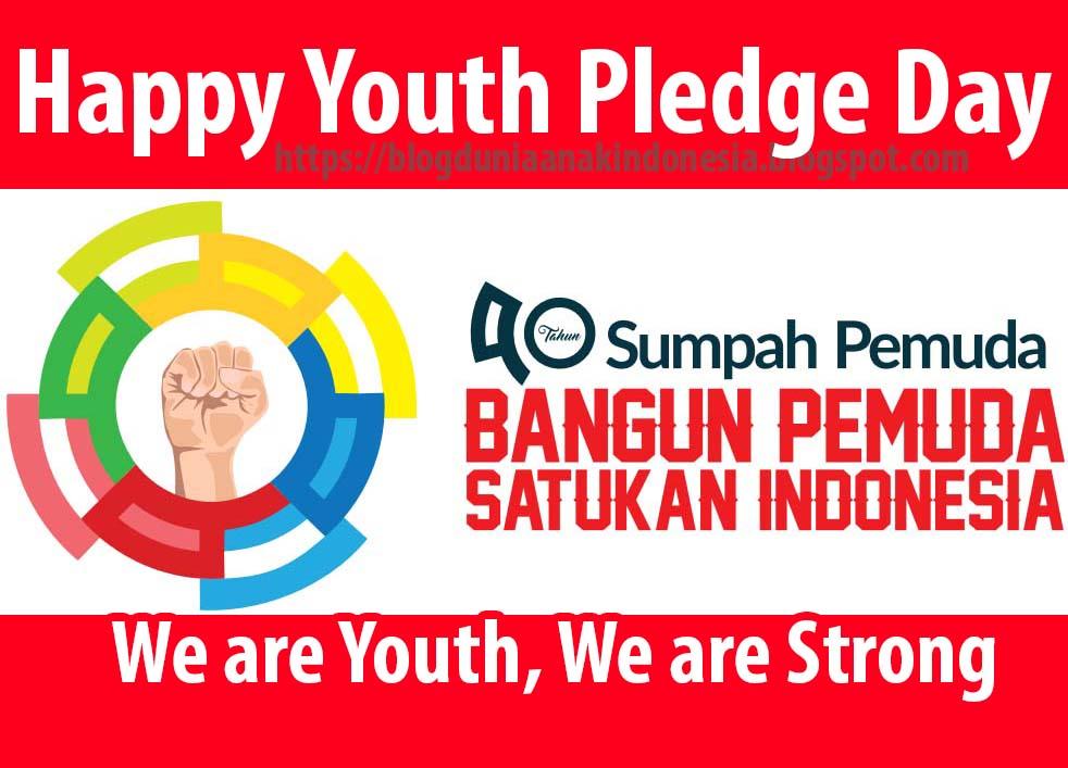 Logo Tema Hsp Sambut Hari Sumpah Pemuda Lewat Kata