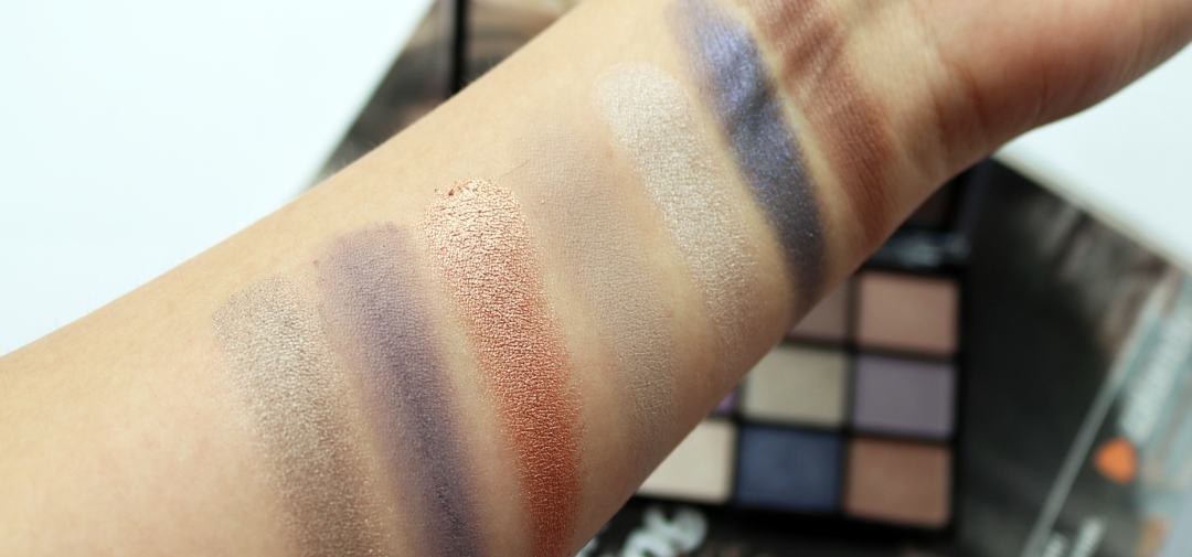 MUA 15 Shade Eyeshadow Palette - Twilight Delight Review & Swatches