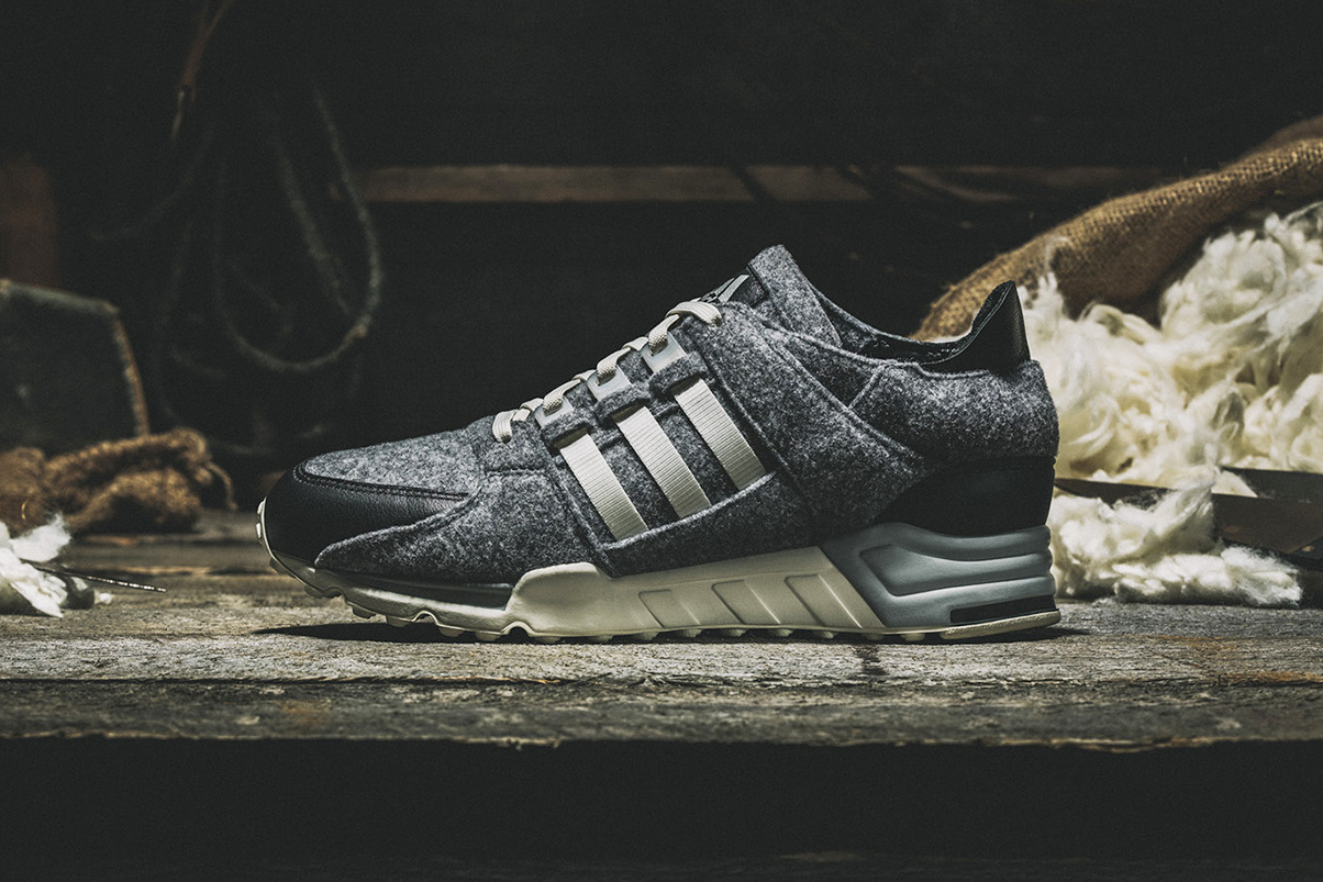 """... reflective XENO look to the EQT Support  93 and now the early  90s  runner is getting yet another bold makeover. This time around it s a """"Winter  Wool"""" ... 61ab48fd9"""