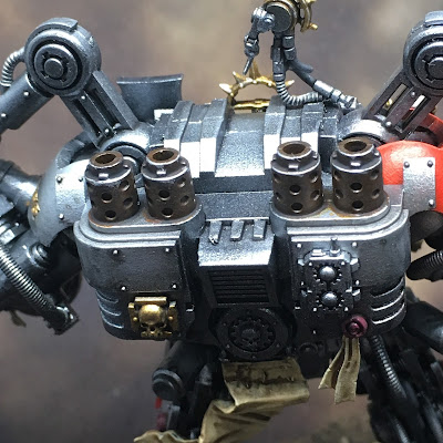 Grey Knight Grand Master in Nemesis Dreadknight Exhausts