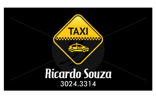 cartao de visita taxistas 10 - Cartão de visita criativo para taxistas