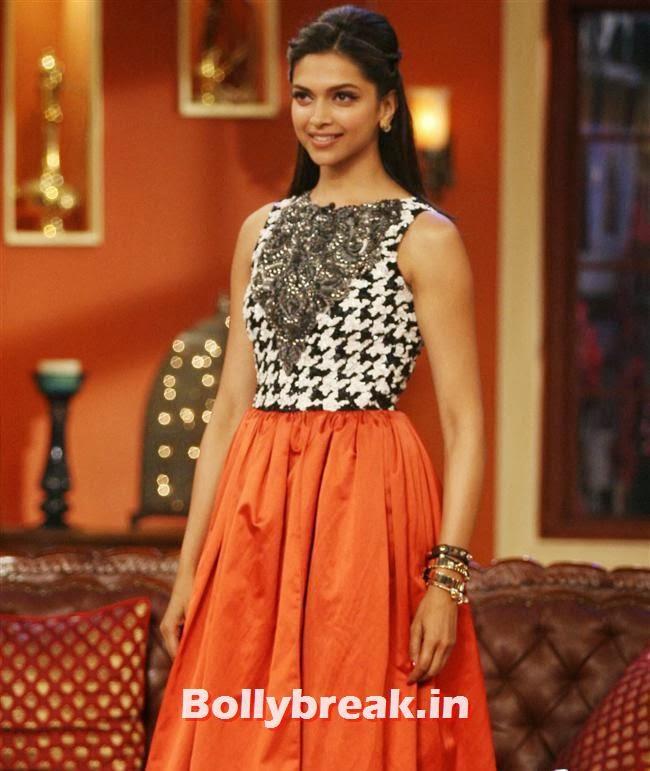 Deepika Padukone, Comedy Nights with Kapil & Ram Leela Team
