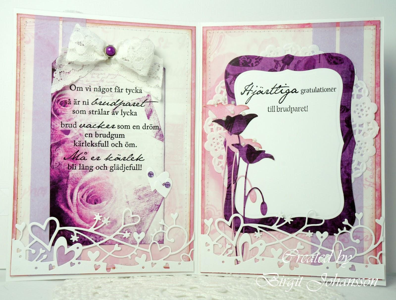brudpar gratulationer K designs Blog: Ohvad roligt med bröllop! brudpar gratulationer