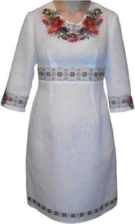 Вишиванка - Інтернет-магазин вишиванок  Вишиті плаття (сукні) 2747f3a288229