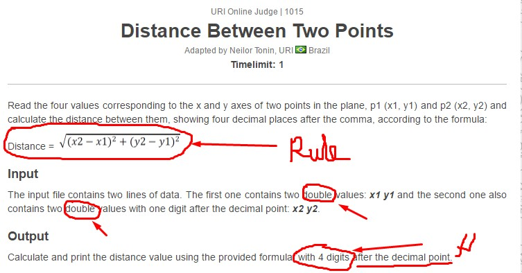 3 INFO PYTHON MATH DISTANCE BETWEEN TWO POINTS PRINTABLE
