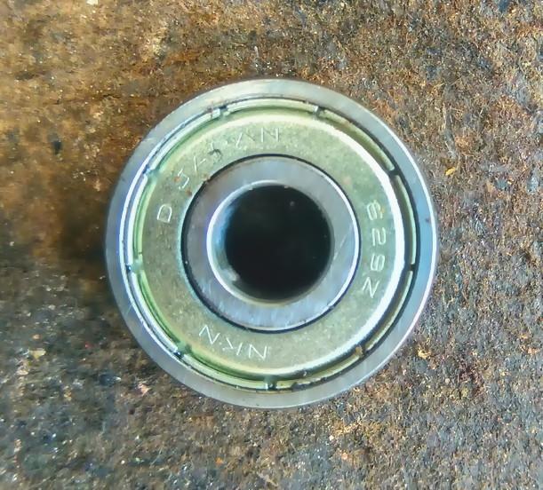 cara mengganti bearing mesin gerinda