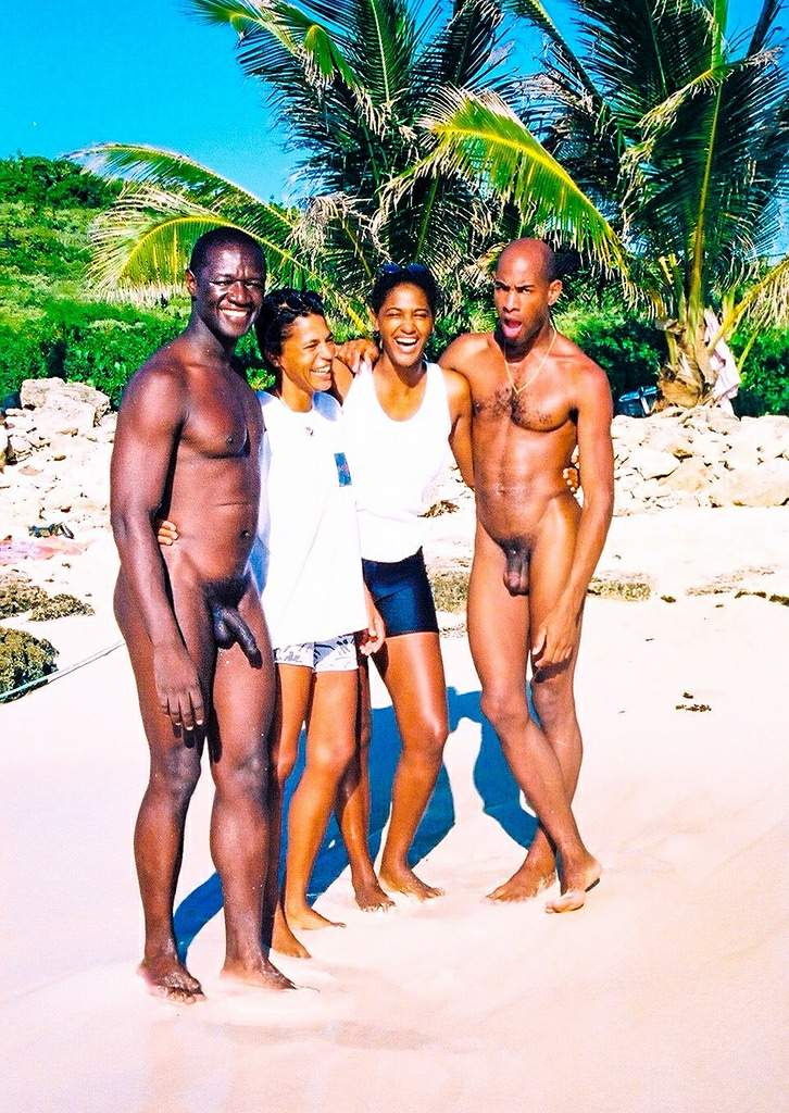 That male female nudity on beach serious?
