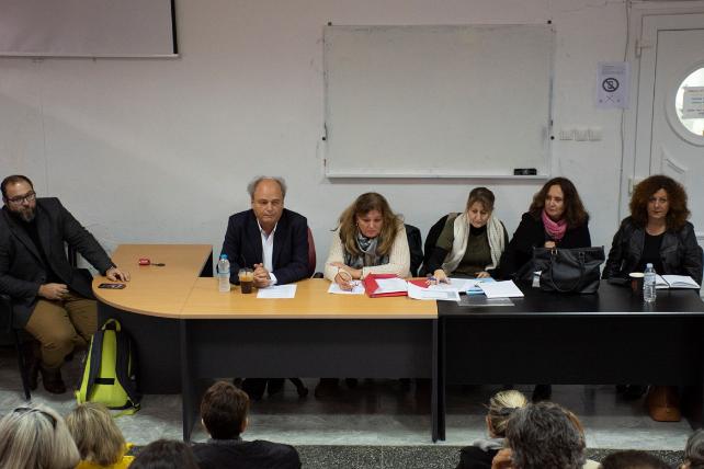 Συνάντηση στο   Πολύγυρο με θέμα  η φοίτηση των παιδιών προσφύγων σε σχολεία της  περιοχής.