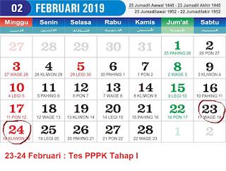 Detail Jadwal Seleksi PPPK Tahap 1