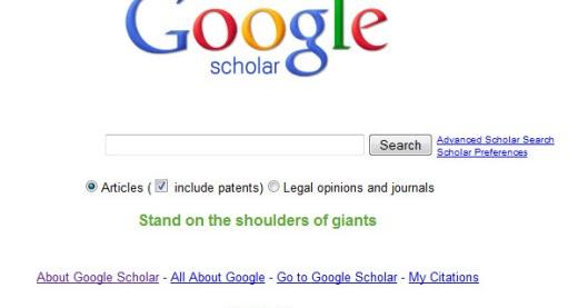 Apa itu Google Scholar ??? | Chemistry is a fascinating