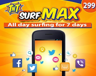 TNT SurfMax 299 – 1 Week Internet Access for only Php299.00