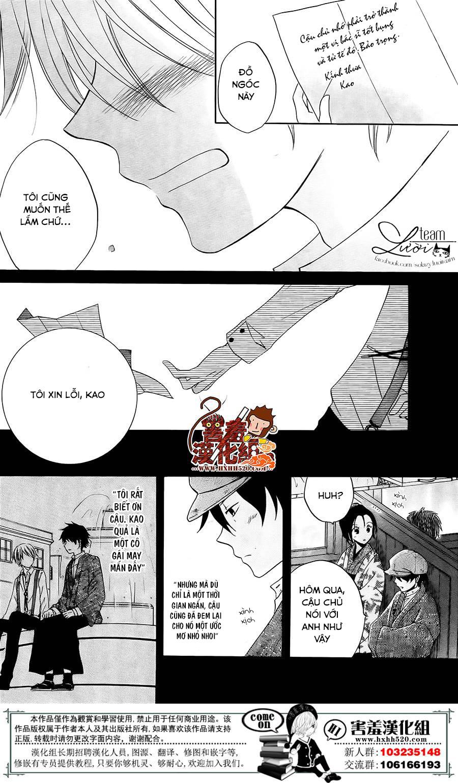 Haikei Mayumi-sama chap 3 - Trang 27