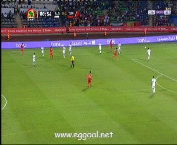 اهداف مباراة تونس والجزائر 2-1 كاس امم افريقيا 19-1-2017 بتعليق الشوالى