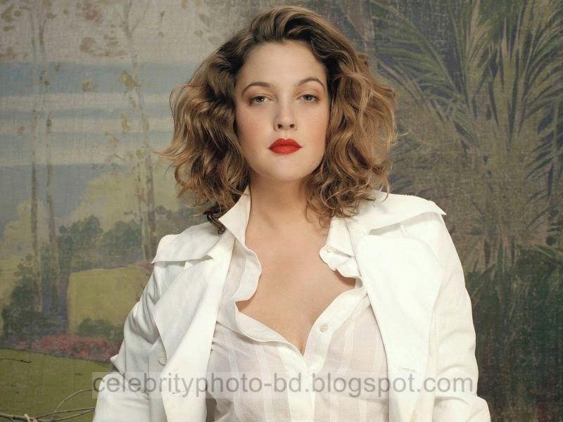 Sexy Model Drew Barrymore Latest Hot HQ Photos Collection 2014-2015
