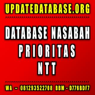 Jual Database Nasabah Nusa Tenggara Timur