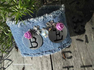BE Denim Charm Bracelet