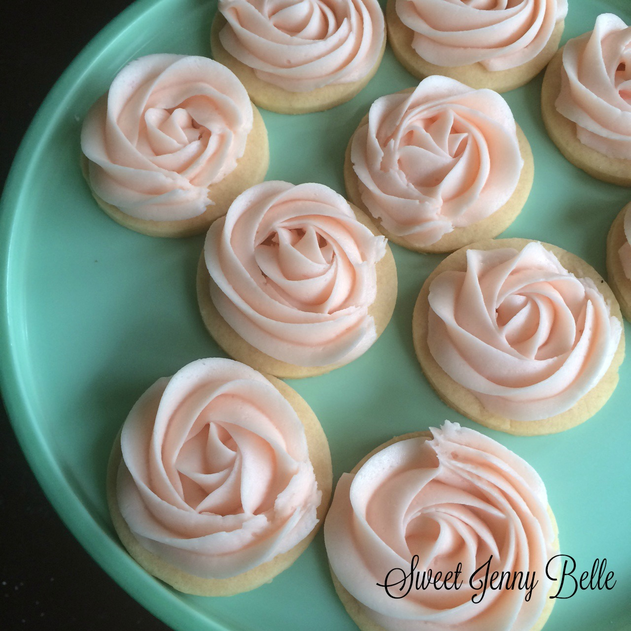 Cotton Candy Cookie And Buttercream Icing