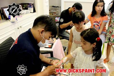 Body Pinting Flowers Kids Jakarta