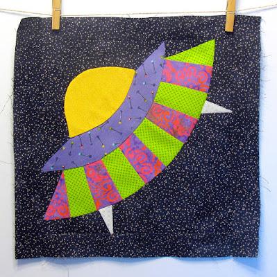 little ufo quilt block pattern